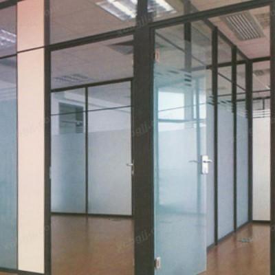 中泰昊天办公家具玻璃隔墙办公室装修玻璃07