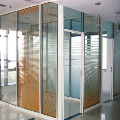 中泰昊天办公家具隔墙玻璃高隔断05