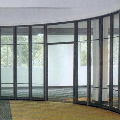 中泰昊天办公家具弧形单玻璃高隔间02
