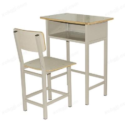 单人培训班课桌椅 02 中泰昊天办公家具