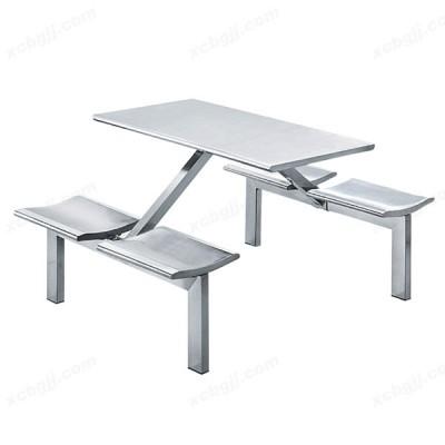 中泰昊天办公家具不锈钢食堂餐桌椅11