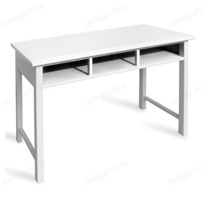 白色亮光三斗桌 17 中泰昊天办公家具
