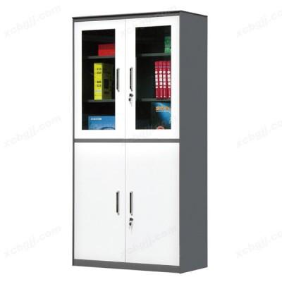 套色柜办公文件柜带锁铁皮柜09