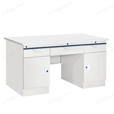 加厚钢制办公桌 06 中泰昊天办公家具