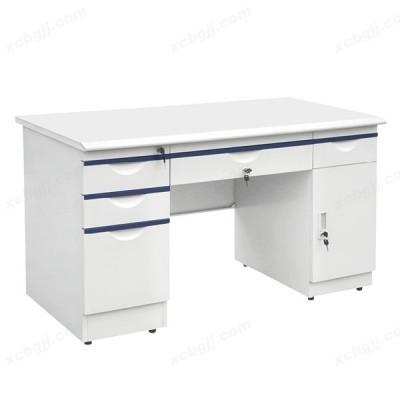 钢制办公桌 学生写字台04