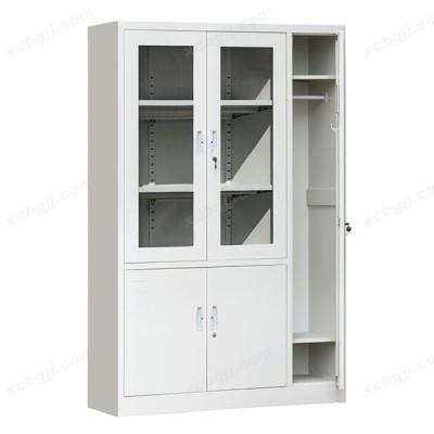 平开带更衣柜带锁铁皮柜子08