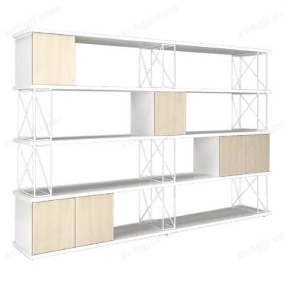 隔断板式木质办公室落地文件柜20