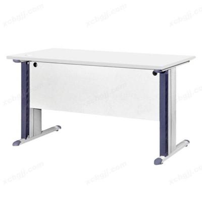 白色钢角阅览桌15 中泰昊天办公家具