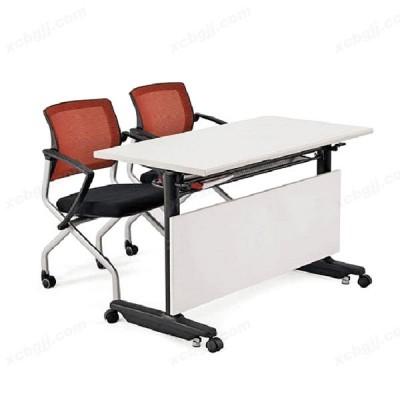 中泰昊天办公家具 双人位白色阅览桌13