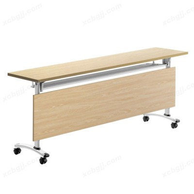 双层折叠桌 长条形会议桌04