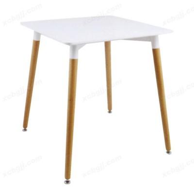 中泰昊天办公家具简约时尚休闲桌实木桌38