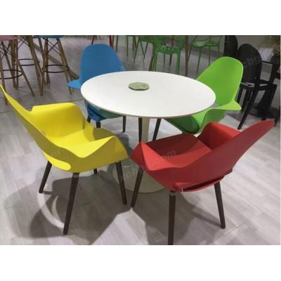 台桌椅休闲实木桌椅35