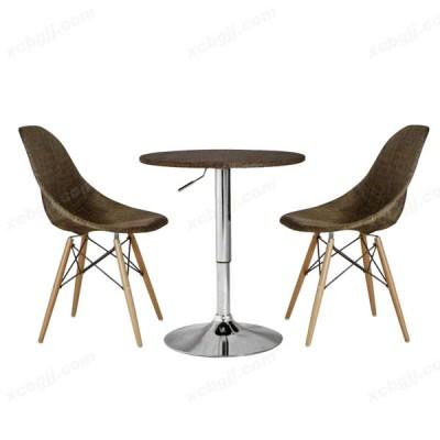 中泰昊天办公复古咖啡厅桌椅组合27