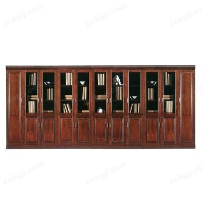 天津老板室办公组合书柜11