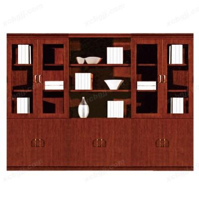 天津老板办公落地储物书柜05