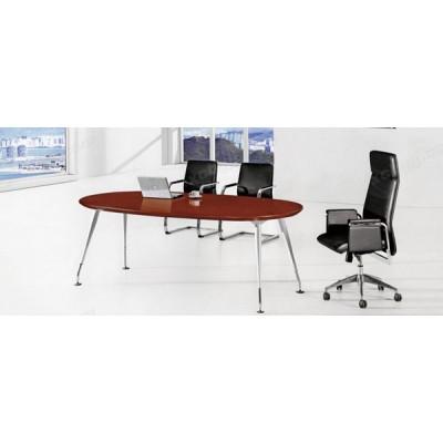 天津椭圆形公司钢脚会议桌19