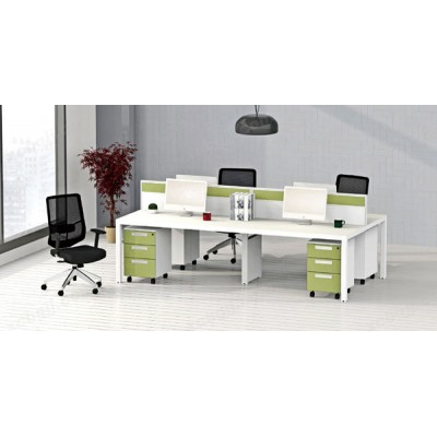 职员办公桌 15 屏风组合桌