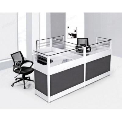 屏风隔断电脑桌 组合办公桌08