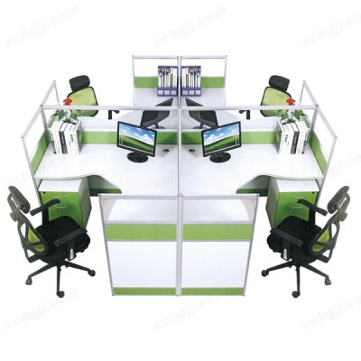 屏风办公桌 05 员工组合桌