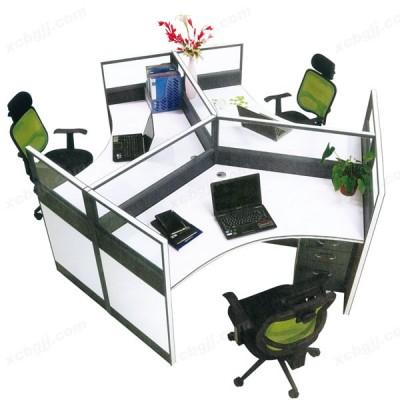中泰昊天员工工作位 屏风组合桌04