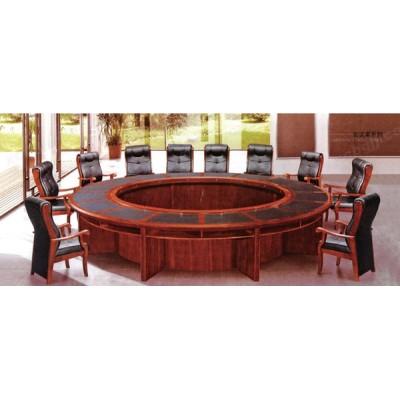 天津圆形会议室开会桌07