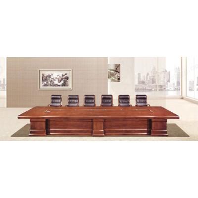 天津大型实木公司会议桌02