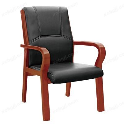 天津中泰昊天家用书房椅 真皮会议椅45
