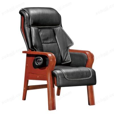 实木固定会议椅 会客可躺办公椅31