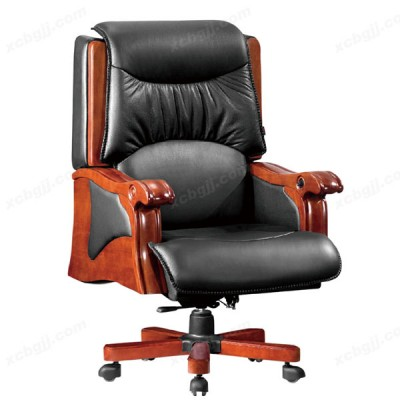 天津中泰昊天真皮可躺大班椅 老板椅05