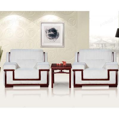 布艺国宾会客沙发 办公室单人位沙发48