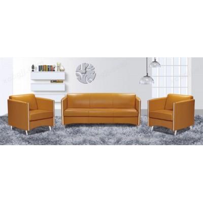 商务会客沙发 现代皮艺办公沙发19