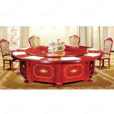 河北盛朗电动餐桌 酒店大圆桌02