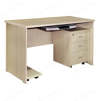 河北盛朗电脑桌带抽屉木质书法桌子10