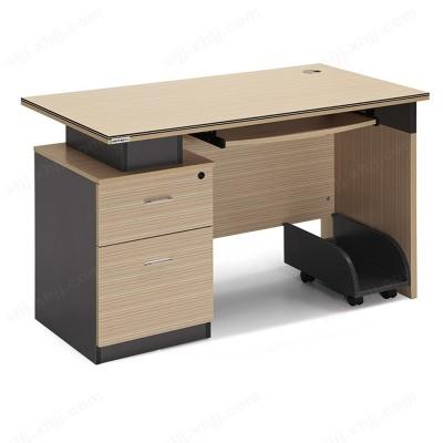 河北盛朗铁柜简约书桌简易电脑桌台04