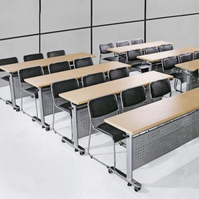 河北盛朗翻板培训桌 办公折叠桌11