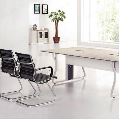 河北盛朗培训桌长方形办公桌椅长条桌15