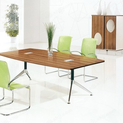 河北盛朗铁柜会议桌长桌电脑桌老板桌14