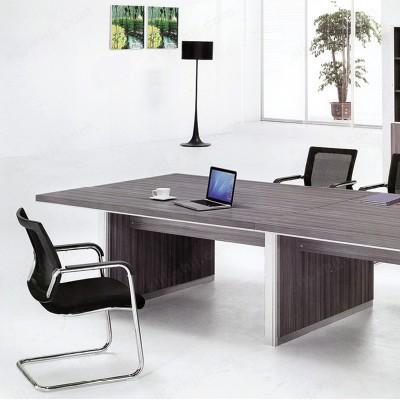 河北盛朗会议桌长桌 简约现代长方形培训洽谈桌09