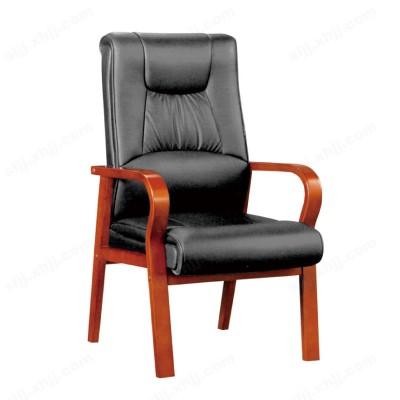 河北盛朗真皮会议椅 靠背椅17