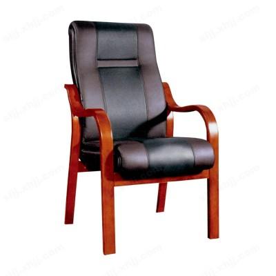 四脚带扶手办公会议椅16