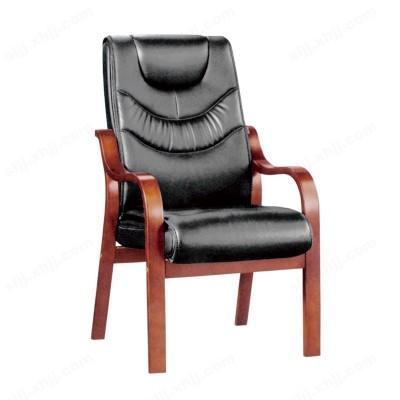 河北盛朗高档实木真皮会议椅14