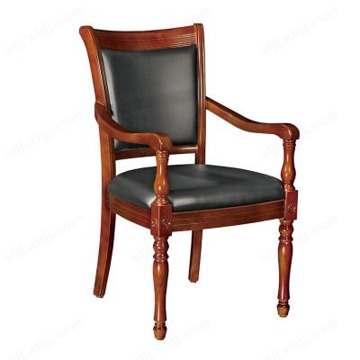 河北盛朗简约实木扶手会议椅10