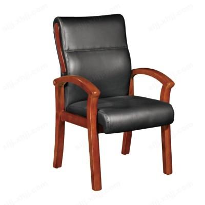 河北盛朗实木会议椅 实木办公椅09