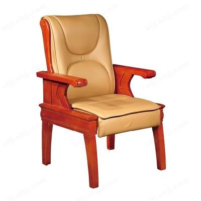 河北盛朗实木皮质办公椅 会议椅08
