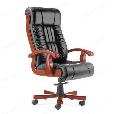 豪华老板椅 真皮可躺大班椅11