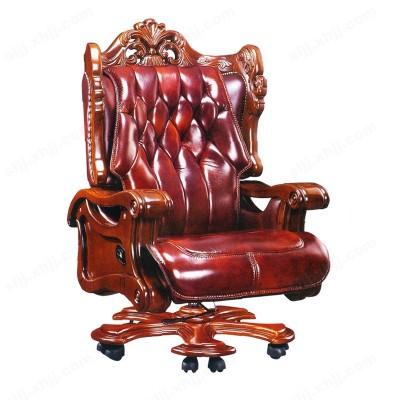 河北盛朗真皮可躺大班椅 老板椅01