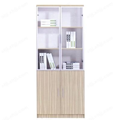 河北盛朗木质办公收纳储物置物架书房柜18