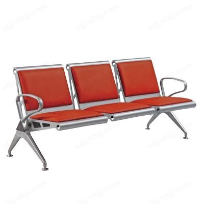 河北盛朗超市休息连排椅 全钢沙发椅08