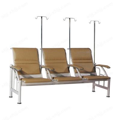 河北盛朗三人位输液椅 点滴椅02