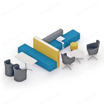 河北盛朗办公室休闲现代羊绒沙发02